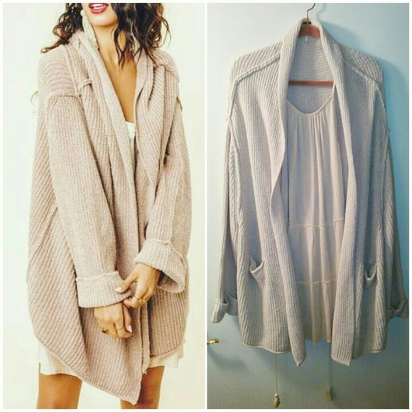 a101a94f80 Free People Sweaters - Free People Low Tide Oversized Cardigan