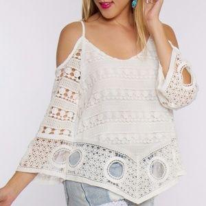 ⭐️ Whitney Crochet Top