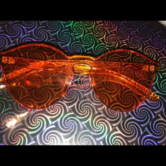84e011f3b8 Colorful Transparent Round Super Retro Sunglasses.  M 5a06b2c878b31cb1100b93f3