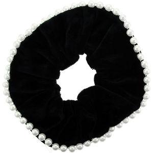 Accessories - Bundle of 12 Scrunchie, hs59, black velvet