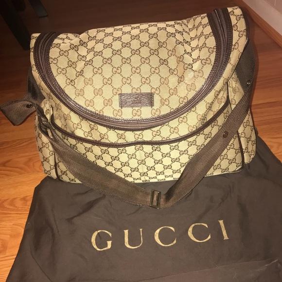 82aaa8a4c Gucci Bags | Diaper Bag | Poshmark