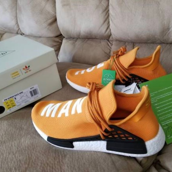 Adidas Nmd Human Race Tangerine | Poshmark