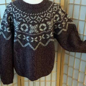 Men's LL Bean sweater sz Med