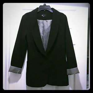 Black blazer AB studio