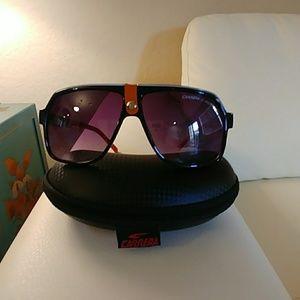 Carrera sunglasses orange and black pre owned