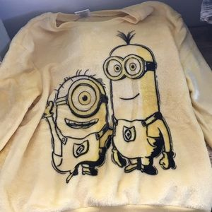 Other - Child's Despicable Me Minions fuzzy sweatshirt