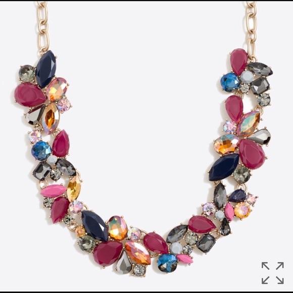 690a0458406e0a J. Crew Factory Jewelry   J Crew Factory Mixed Stone Necklace   Poshmark