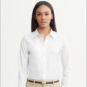 Banana Republic White Non-Iron Shirt