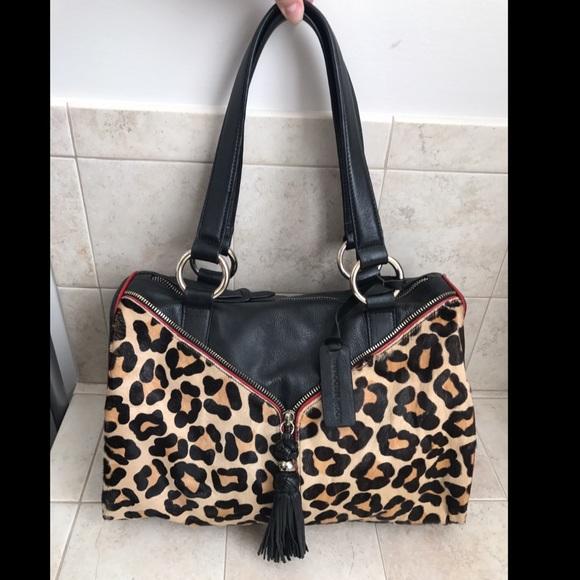 37e239dbd7a1 Aqua Madonna Handbags - Aqua Madonna handbag leopard calf hair