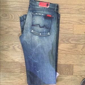 Denim - 7 for all mankind limited edition 777 jeans
