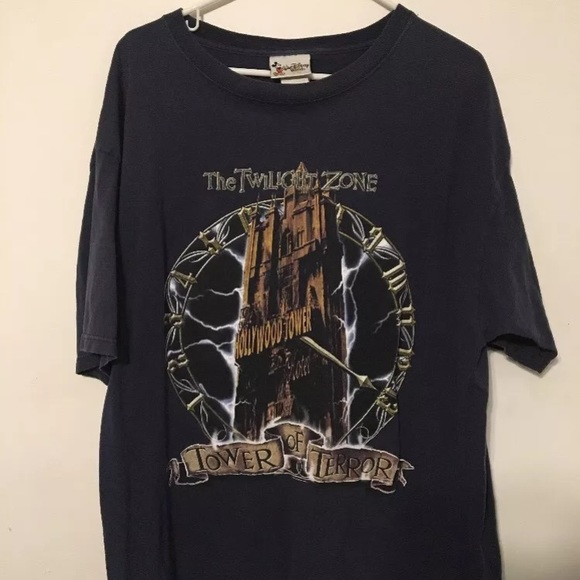 8de2295c210d Disney Other - Vintage Disney Twilight Zone Tower Of Terror Shirt