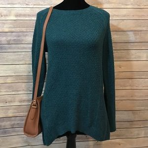Loft | Emerald Green Knit Sweater