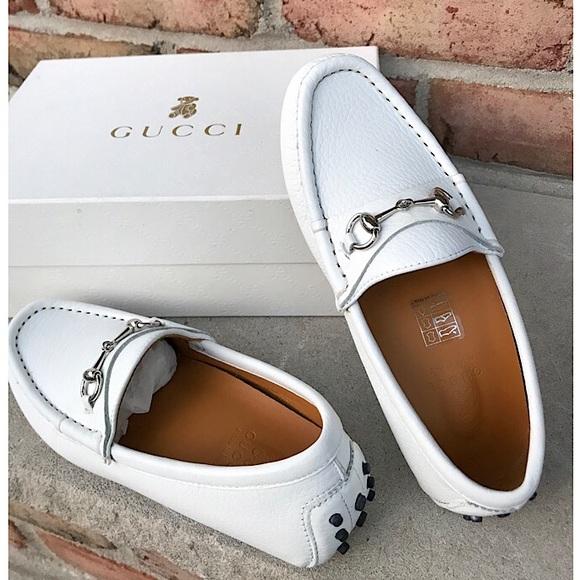 Gucci Shoes | Gucci Kids Classic White