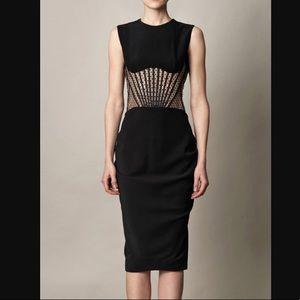 NWT Alexander McQueen corset lace dress