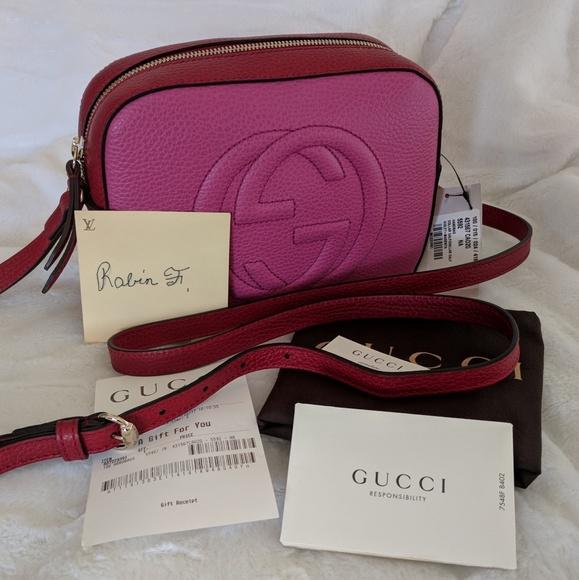 2acb8124906 Gucci Bags   Final Discount Authentic Soho Disco Bag   Poshmark
