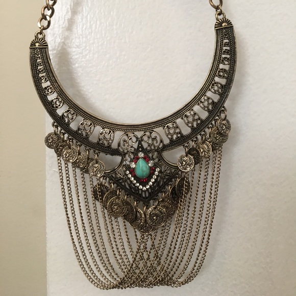 NWT Ancient Greek inspired necklace NWT