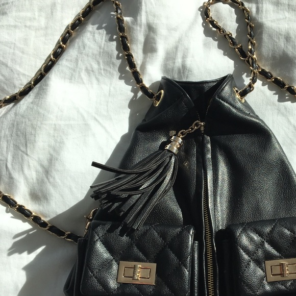 db35fb68375516 Forever 21 Handbags - Forever 21 {Chanel inspired} backpack