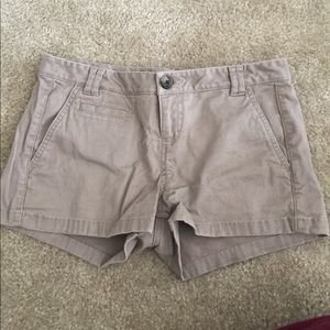 Size 0 Express khaki shorts