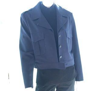 NEW ANNE KLEIN 1950s style bomber blazer jacket 16