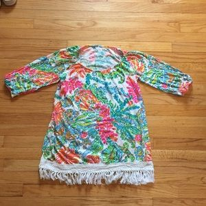 Lilly Pulitzer XS Alia Beach- Cover Up