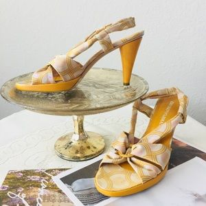 Emporio Armani Heels Sandals Sz 38.5EU