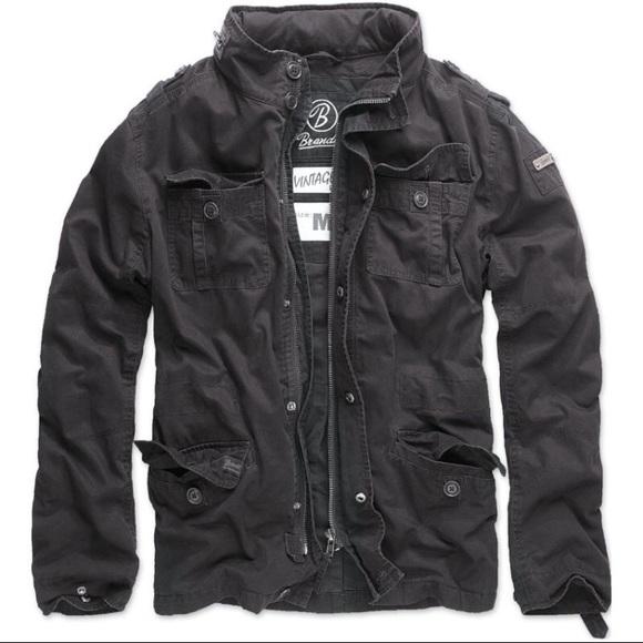 bf1d7da9b5c2 brandit Other - Vintage Brandit Black Jacket