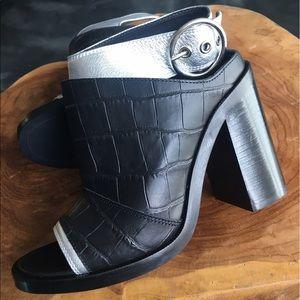 MM6 Maison Martin Margiela Heels Silver 37 6.5