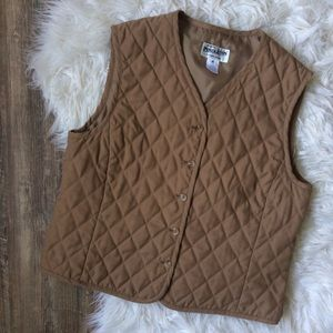 Pendleton Quilted Vest