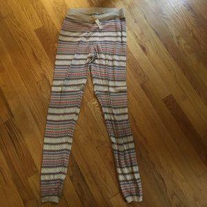 Fair aisle sweather legging Madewell size S