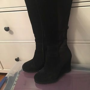 STEVEN by Steve Madden Suede Boots