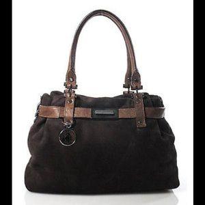 Lanvin Dark Brown Kentucky Hand Bag
