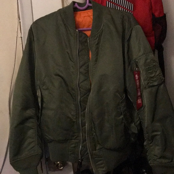 new concept 5855b 81e64 Alpha Industries Bomber Jacket