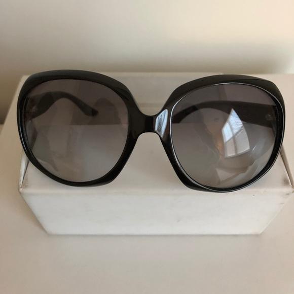 7fe19ac3d4e31 Dior Accessories - Dior Black Glossy 1 584LF 62 20 Sunglasses