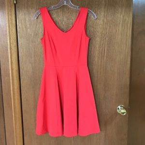 HP Cynthia Rowley Scuba Coral fit and flare dress!