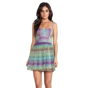 NWT Jack BB Dakota Keelia Multi Colored Dress