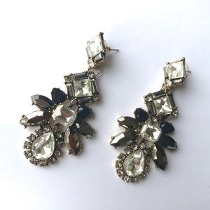 Jewelry - ▪️HP▪️Sparkly Crystal Statement Earrings▪️New▪️