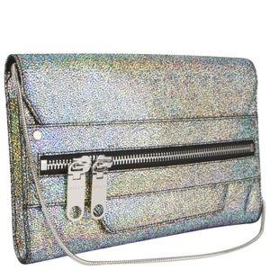 Milly NWT Delano metallic clutch