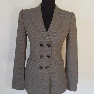Armani Collezioni Tweed Style Blazer Size 2