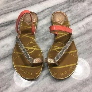 Sam & Libby Spring/Summer Sandals Pink Rose Gold