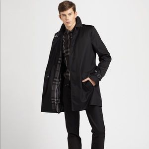 Burberry London Single Breasted Trench Coat