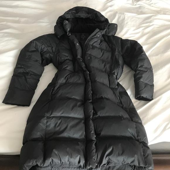 9ead33125 GAP Women's Long Down Puffer Coat