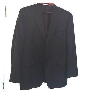 Black Burberry men's suit - 44 short