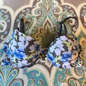 Gilly Hicks Floral Bra