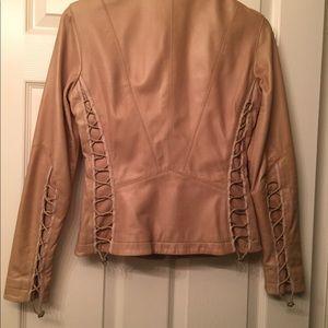 Elie Tahari Jackets & Coats - Elie Tahari corseted leather jacket