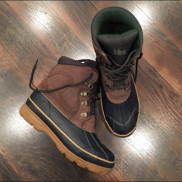 d4d6737e707 Totes women's winter duck boots! Size 10