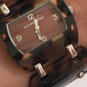 Authentic Michael Kors Tortoise Watch