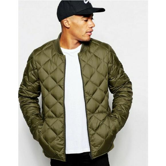 8337d21d3354 Men s Nike olive green reversible bomber jacket