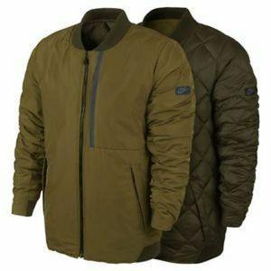 25fff5af9b51 Nike Jackets   Coats - Men s Nike olive green reversible bomber jacket