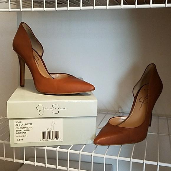 815e05e9ed8 Jessica Simpson Claudette d'orsay heels size 7.5