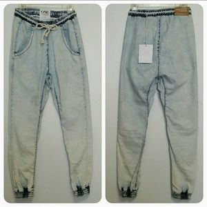 🆕ONE by One Teaspoon SUPER TRACKIES XS.